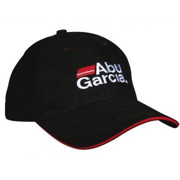 Abugarcia Abu Black Baseball Cap zwart - wit pet