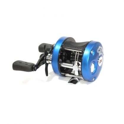 Abugarcia Ambassadeur 5600 PIKE zwart - blauw visreel