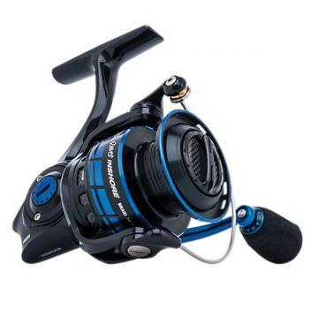 Abugarcia Revo Inshore Spinning zwart - blauw vismolen 4000