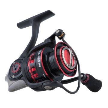 Abugarcia Revo SX Spinning zwart - rood vismolen 2000