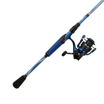 Abugarcia Revo X Spinning Combo MH zwart - grijs - blauw roofvis spinhengelset 2m40 10-30g 3000
