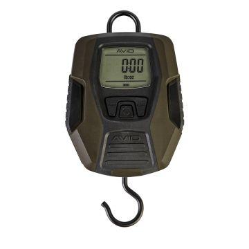 Avid Carp Digital Scales zwart - groen visweegschaal