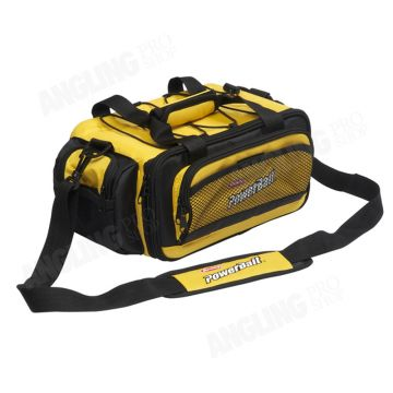 Berkley Powerbait Bag zwart - geel foreltas witvistas Medium