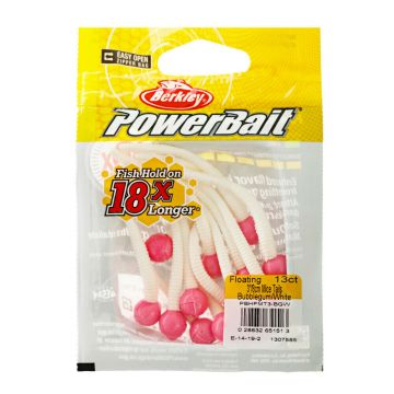 Berkley Powerbait Floating Mice Tails bubblegum white  8cm