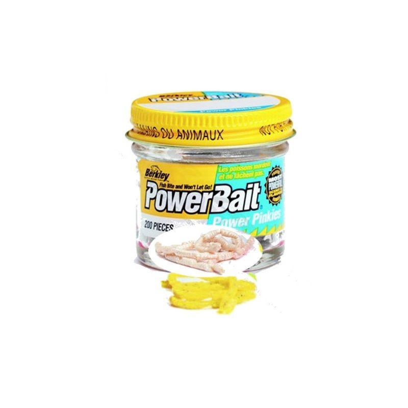 Berkley Powerbait Pinkies PWR wit forel forelaas