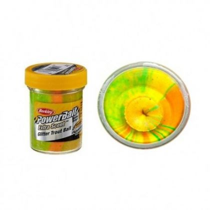 Berkley Powerbait Select Glitter Trout Bait rainbow  50g