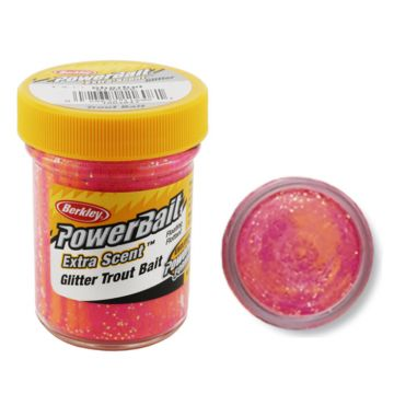 Berkley Powerbait Select Glitter Trout Bait sherbet forel forelaas 50g