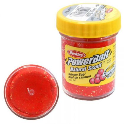 Berkley Powerbait Select Trout Bait salmon red glitter forel forelaas
