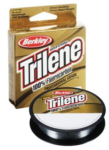 Berkley Trilene 100% Fluoro Carbon Leader clear roofvis visdraad 0.40mm 50m 12.6kg