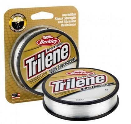 Berkley Trilene 100% Fluoro Carbon Leader clair  0.15mm 150m 1.8kg