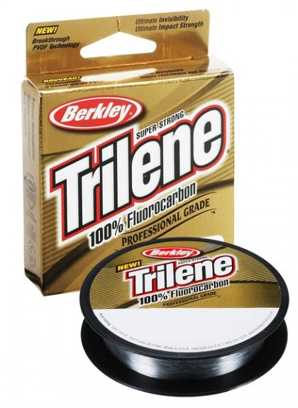 Berkley Trilene 100% Fluoro Carbon Leader clear visdraad 0.18mm 50m 2.3kg