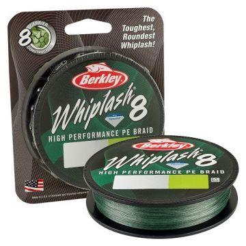 Berkley Whiplash 8-Braid moss green gevlochten visdraad 0.08mm 150m 12.9kg