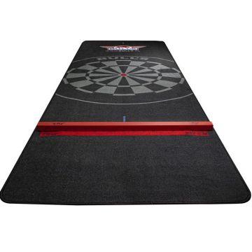 Bulls Carpet Dartmat With Oche zwart - rood 300x95cm