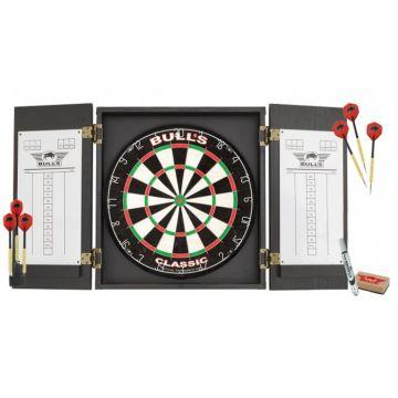 Bulls Classic Cabinet Dartboard Set multi