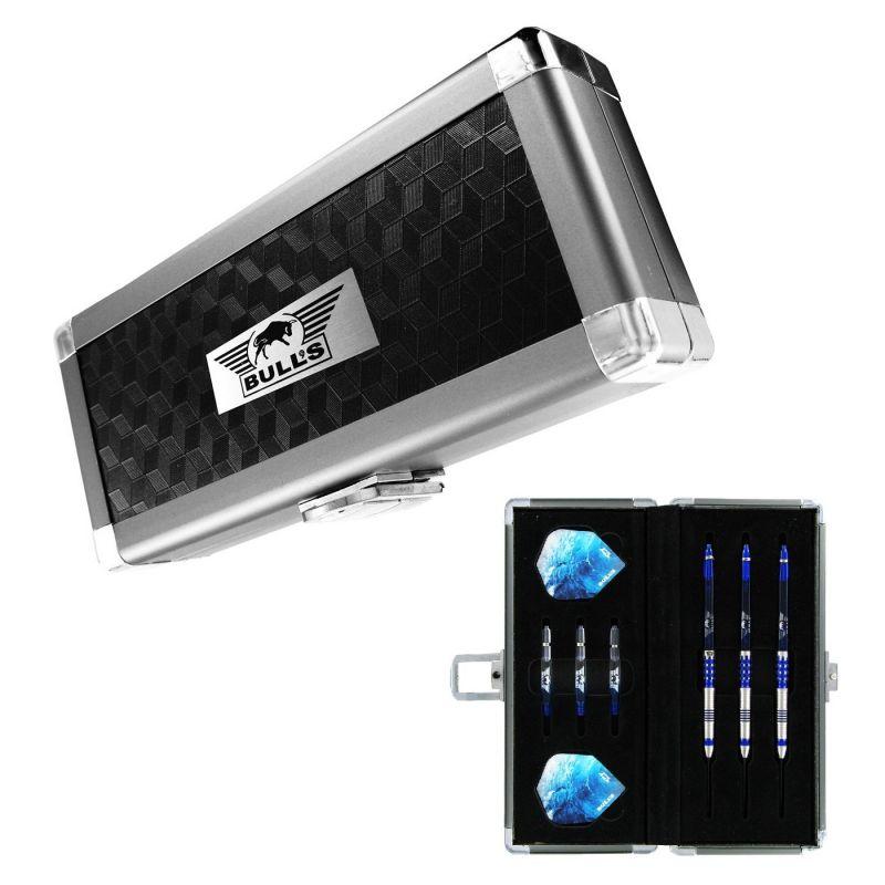 Bulls Secuda M-Case Aluminium zwart - zilver 8x17x4cm