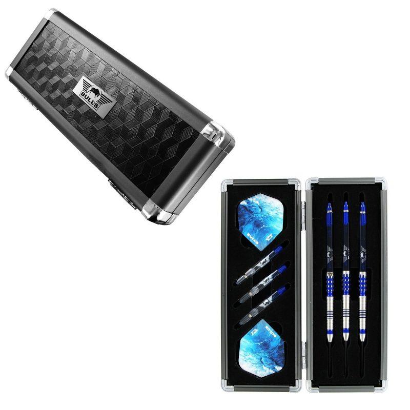 Bulls Secuda S-Case Aluminium zwart - zilver 6x15x3cm