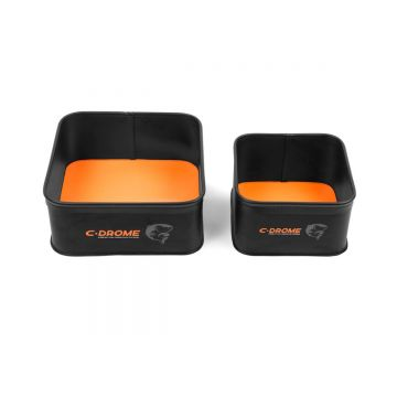 C-drome EVA Bowl Set zwart - oranje foreltas witvistas