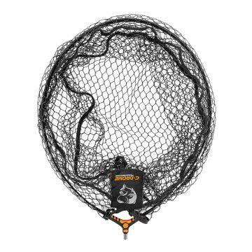 """C-drome Latex Landing Net zwart visschepnet 20"""" - 50cm"""