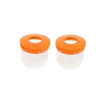 C-drome Soft Cad Pot orange - clair  Small