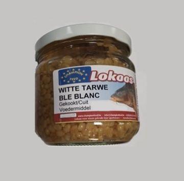 Champion Feed Gekookte Tarwe 380CC wit - bruin partikel 1/2l