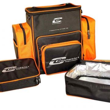 Cinnetic Backpack Professional High End ZWART - ORANJE zeevis vistas