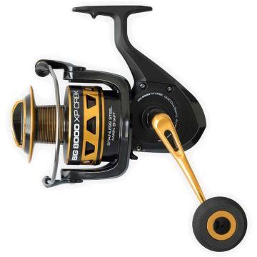 Cinnetic Big 8000 XP CRBK zwart - goud zeevis zeemolen 8000