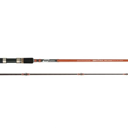 Cinnetic Rextail Seabass zwart - oranje zeevis zeebaarshengel 2m70 15-45g
