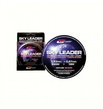 Cinnetic Sky Leader clear zeevis visdraad 26°- 57° 250m+15m