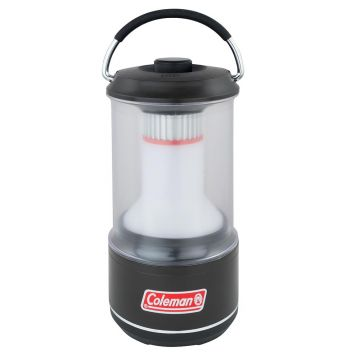 Coleman BatteryGuard 600L LED Lantern zwart - clear lamp