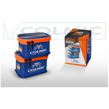 Colmic Combo Scorpion 100 x2 blauw - oranje - wit foreltas witvistas