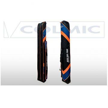 Colmic Duro Holdall RBS XXL 200 zwart - blauw - oranje visfoudraal 200x29x17.5cm