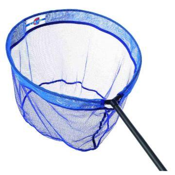 Colmic Fine Natural Match blauw - wit - rood visschepnet 50x43cm