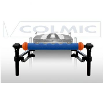 Colmic Frontal Bar Double Arms blauw - zwart - oranje witvis