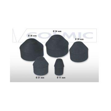 Colmic Joint Cleaner zwart witvis onderdeel 30mm