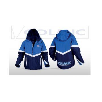 Colmic London Jacket blauw - wit - rood visjas Medium