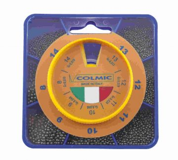 Colmic Mascotte Sile Extra Fine 7-Diverse nickel vislood N°8 - N°14
