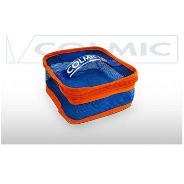 Colmic Mesh 300 blauw - oranje - wit foreltas witvistas