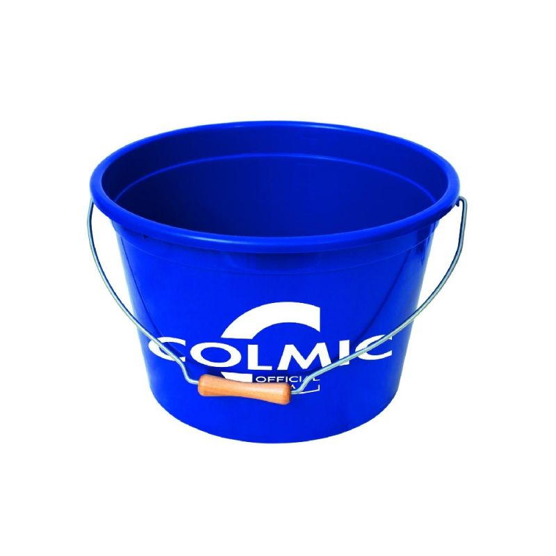 Colmic Official Team Bucket blauw visemmer 18l