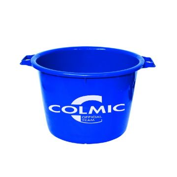 Colmic Official Team Bucket blauw visemmer 40l