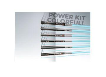 Colmic Powerkit Oversize Colorfull Power K40 zwart - blauw witvis topset vaste hengel 2-delig 2m90