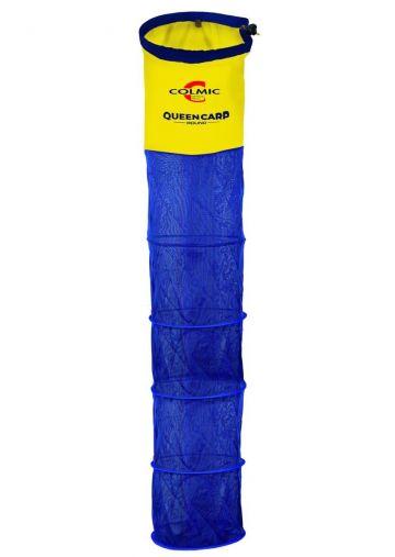 Colmic Queen Carp Round blauw - geel - rood witvis leefnet 4m00