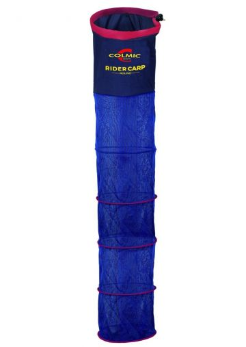Colmic Rider Carp Round blauw - geel - rood witvis leefnet 4m00