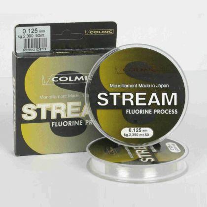 Colmic Stream clear visdraad 0.14mm 50m