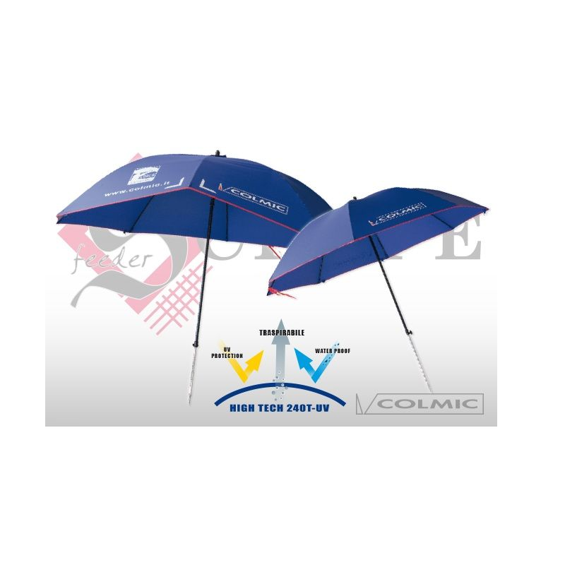 Colmic Umbrella Fiberglass blue  2m80