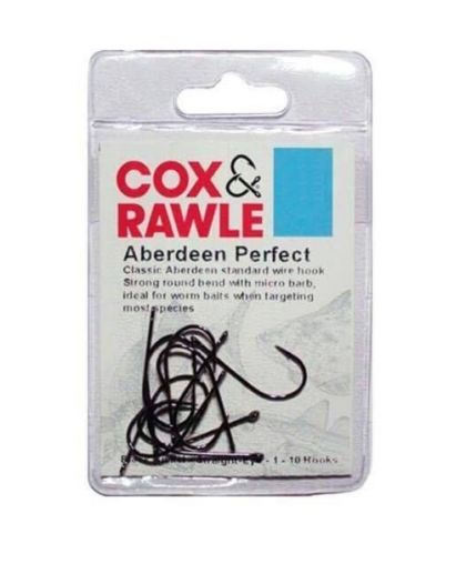 Cox & Rawle Aberdeen Perfect Hook zwart vishaak 1