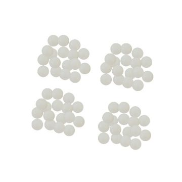 Cox & Rawle Pro Rig Attractor Beads white parel 5mm