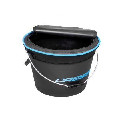 Cresta Bait Bucket Combo zwart - blauw visemmer 25l
