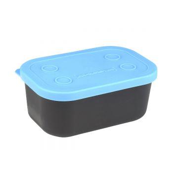 Cresta Baitbox Full Lid zwart - blauw madendoos 0.6l