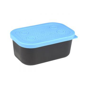 Cresta Baitbox Holed Lid zwart - blauw madendoos 0.6l