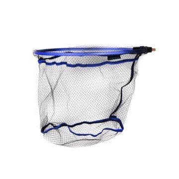 Cresta Blackthorne Ghost Net Fine Mesh zwart - blauw visschepnet Small